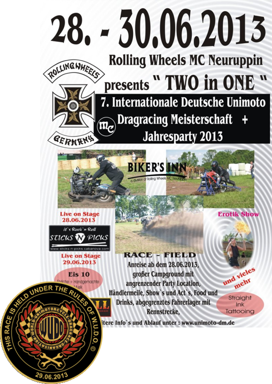 7. Internationale Deutsche Unimoto Dragracing Meisterschaft