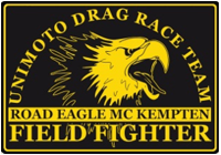 Unimoto Dragrace Team Field Fighter Road Eagle MC Kempten