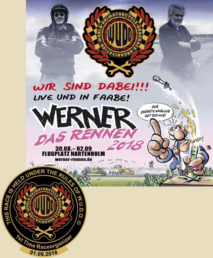 Unimotorcycle Werner Cup 2018