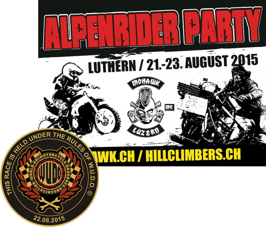 Alpenrider Party mit Unimoto Drag Racing 2015