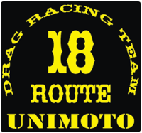 Unimoto Drag Race Team 18 Road Runners MC Polen