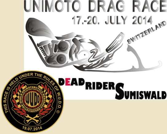 19. July 2014: Unimoto Drag Race Weltmeisterschaft