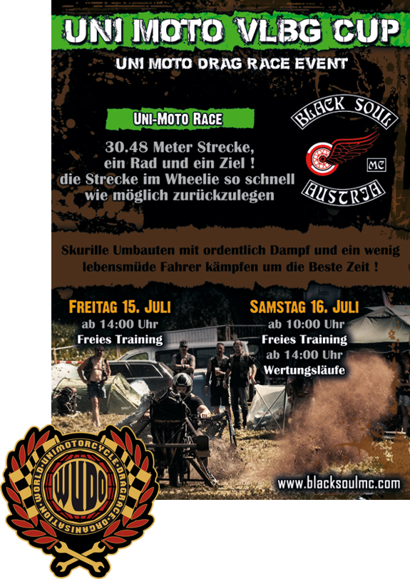 Black Soul MC Austria 2. Unimoto Rennen