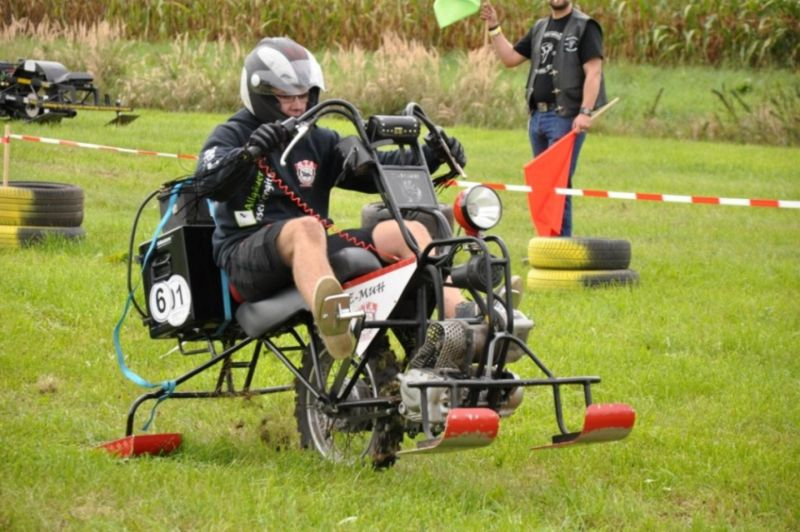 6. Bayerische Meisterschaft im Unimoto Drag Race 2015