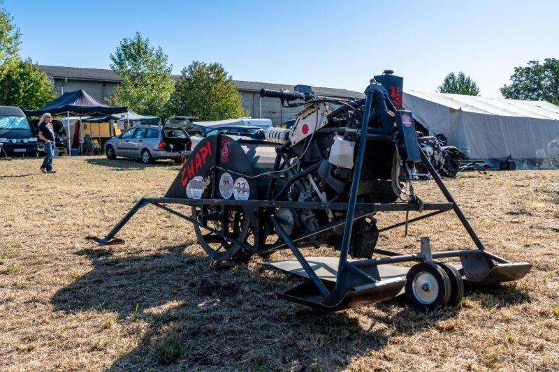 EM im Unimotorcycle Drag Race und 3. Grabfeldcup 2019