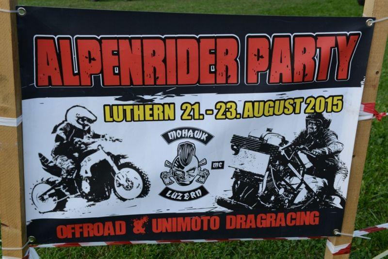 Alpenrider Party mit Unimoto Drag Racing