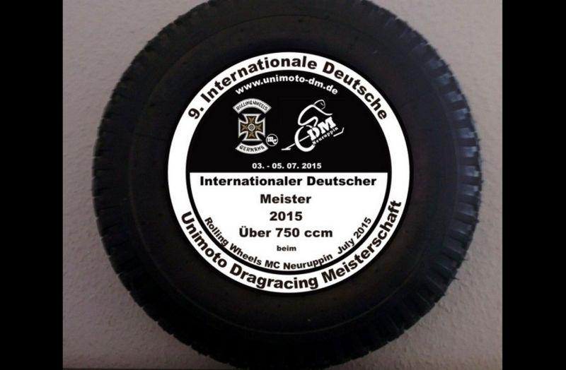 9. Internationale Deutsche Unimoto-Dragracing Meisterschaft 2015
