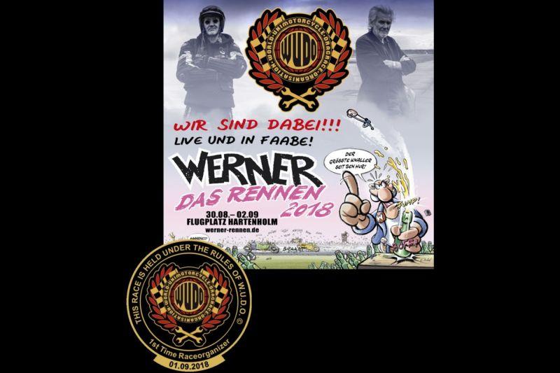 Werner Cup im Unimotorcycle Drag Race